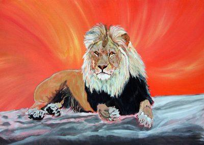 Eure Majestät Löwe
